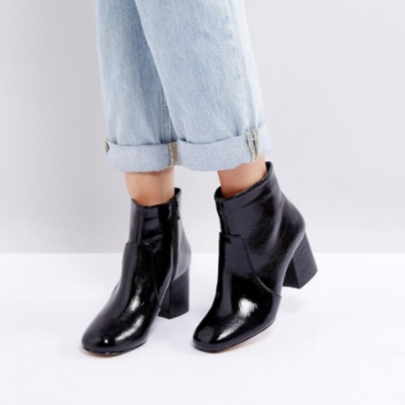 e8ce45536d78 Oasis Patent Leather Block Heeled Ankle Boot 8. M_5ab11f08a6e3eab6a05ac95d